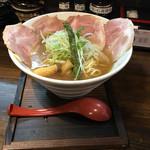 麺69 チキンヒーロー - 鶏中濃 チャーシュープラス