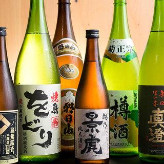 こだわりの日本酒!オリジナル酒「をどり」ほか、旨い地酒を厳選