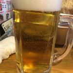 岩崎塾 - やっぱり生ビールでしょ♪