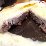 えんとつ - チーズハンバーグ150g(ホワイトソース) 割面