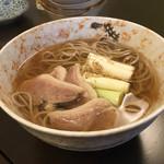 Nippon食の森 あざれあ - 鴨だし蕎麦