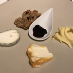 ア・ヴォートル・サンテ - アヴァンデセールorチーズ:チーズ3種を選択