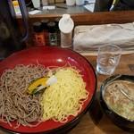 64661781 - 2種盛り そば&中華麺