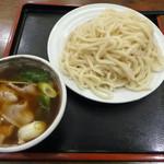 つり鐘うどん - 料理写真:肉汁うどん大盛(800円)_2017-03-30