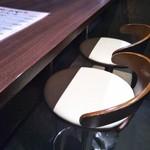 バードマン TRIO - カウンター席(2017年3月28日撮影)