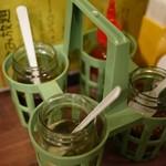 アジアンバル フロッグス - クルワンプルーンていうの?味はコチラで調整しながら楽しんで♪