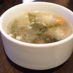 スープカレーと季節野菜ダイニング 彩 - 彩スープカレー&野菜ビュッフェセット 1500円 → 1000円 のスープ
