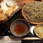 江戸蕎麦ほそ川 - 穴子天せいろ(2650円)
