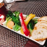 纏 - 季節野菜のバーニャカウダ