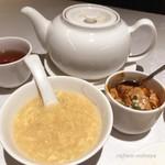 楓林 - セットのスープと麻婆豆腐