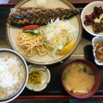黒田屋 - 焼魚定食=750円