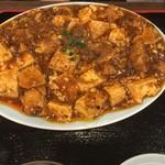 64670035 - 麻婆豆腐 750円の麻婆アップ