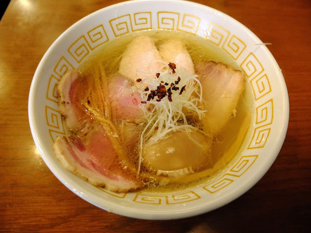 中村麺三郎商店 - 特製塩らぁめん