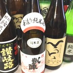 福 - ドリンク写真:香川の七つの酒蔵のお酒が一度に味わえる「香川地酒のみくらべ」 1,500円