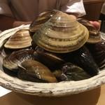 銀座 しのはら - 東京湾のヤマトハマグリ