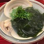 銀座 しのはら - 東京湾のヤマトハマグリの鍋