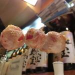 泉家 - 「プチトマト焼き」200円