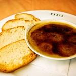 イタリア食堂 MARIA - 鳥レバーのクレーマコッタ ブルスケッタ添え