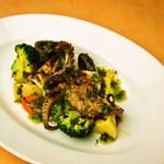 イタリア食堂 MARIA - 瀬戸内小ダコのグリリア
