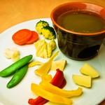 イタリア食堂 MARIA - 春野菜のバーニャカウダ