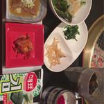 米沢亭 - 前菜・デザート・ドリンク