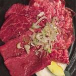 米沢亭 - 松阪牛ロース・松坂牛ハラミ