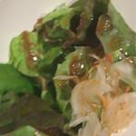 米沢亭 - サラダ