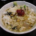 麺創房 神威 - お茶漬け