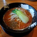 客野製麺所 - 2017年2月5日(日) 坦々麺(激辛仕様)800円