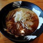 客野製麺所 - 2017年2月5日(日) 冬期限定ガーリック味噌(800円)