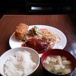 丸味亭 - ランチセット