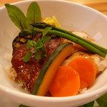 Bistro Fujiyama - 料理写真:フォアグラ丼