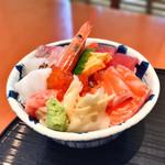 64691613 - 9種海鮮丼+そばセット