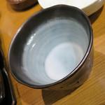 焼肉屋かねちゃん - 芋お湯割り、銘柄忘れw