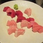 食堂ぱんち 松吾郎 - まぐろの刺し盛り