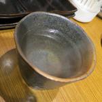 焼肉屋かねちゃん - 芋お湯割り、銘柄失念www