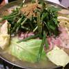 中も津屋 - 料理写真:もつ鍋の塩味 2人前