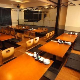 【テーブル席がリニューアル】30~40名様まで対応!