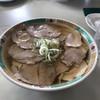 麺龍 - 料理写真:ハーフ&ハーフ 二種のチャーシューの乗ったチャーシュー麺