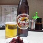生駒軒 - 瓶ビールは麒麟とアサヒ2銘柄ございます