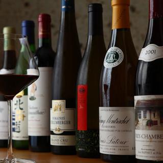 カジュアル系からプレミアム銘柄まで旬の和食に合うワインを厳選