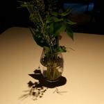 レフェルヴェソンス - テーブルに飾ってあった