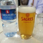 A Provinciana - お水0.90€/グラスビール1.10€