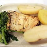 A Provinciana - Codfish grilled with potatoes and vegetable5.50€