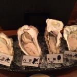 牡蠣と魚 海宝 - 生牡蠣