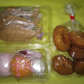 西村菓子店 - 料理写真:生菓子&ドーナツ&カツオモナカ
