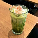 EXCELSIOR CAFFE - 国産さくらのホワイトショコラ抹茶ラテ(S)