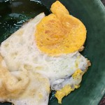 青空食堂 - 卵は焼いてもらうことも可能です