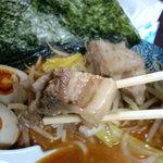 麺屋 かぐら - 極厚 豚バラ