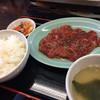 スタミナホルモン食堂 食楽 - 料理写真:牛ハラミ定食(1,080円)★★★★☆